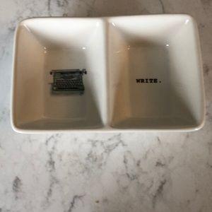 RAE DUNN tray.